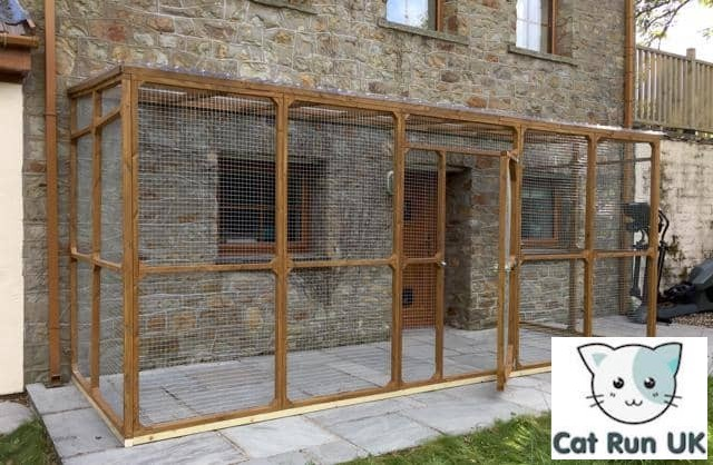 Cat Enclosures Attached To Houses For