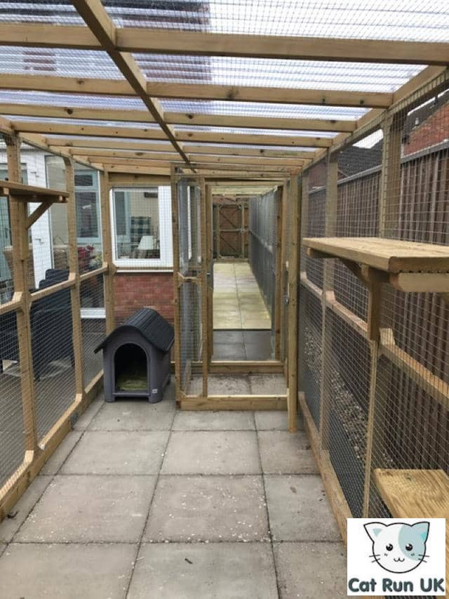 Cat Enclosures Attached To Houses For Outdoor Use Cat